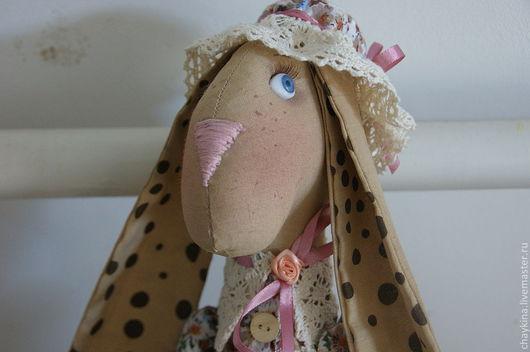 Ароматизированные куклы ручной работы. Ярмарка Мастеров - ручная работа. Купить Крольчиха Августа. Handmade. Крольчиха, авторская игрушка