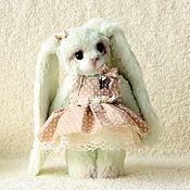 Куклы и игрушки ручной работы. Ярмарка Мастеров - ручная работа Фисташковая зая. Handmade.