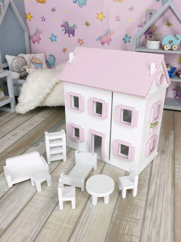 Кукольный домик для кукол 1/8, 1/6, кукольная мебель, набор деталей, Кукольные домики, Королев,  Фото №1