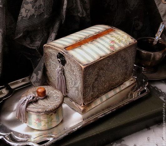 """Шкатулки ручной работы. Ярмарка Мастеров - ручная работа. Купить """"PARADOX"""" - настольная сигаретница и шкатулочка.. Handmade. Подарок женщине"""