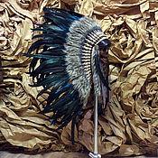 Одежда ручной работы. Ярмарка Мастеров - ручная работа Индейский головной убор - Стремление Ветра. Handmade.