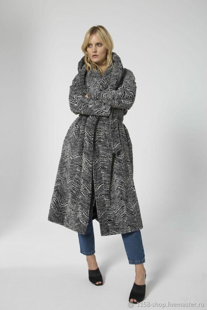 76d99fb60ead Верхняя одежда ручной работы. Ярмарка Мастеров - ручная работа. Купить  Зимнее пальто №9 ...