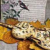 Для дома и интерьера handmade. Livemaster - original item Watch violin