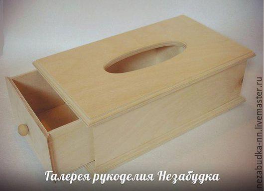 Салфетница с выдвижным ящиком
