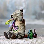 Куклы и игрушки ручной работы. Ярмарка Мастеров - ручная работа Авторский мишка с вышивкой, 31 см. Handmade.