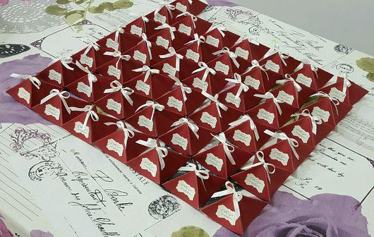 Свадебные аксессуары ручной работы. Ярмарка Мастеров - ручная работа. Купить Бонбоньерки для гостей. Handmade. Бонбоньерка, бонбоньерки на свадьбу, бонбоньерки