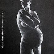 """Картины и панно ручной работы. Ярмарка Мастеров - ручная работа Картина """"Ожидание"""". Handmade."""