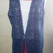 Одежда ручной работы. Ярмарка Мастеров - ручная работа Жилет женский ажурный. Handmade.