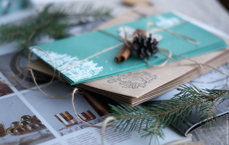 Днем, фотографии открыток и писем