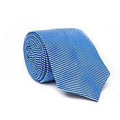 Аксессуары ручной работы. Ярмарка Мастеров - ручная работа Tie Blue. Handmade.