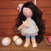 Тыквоголовка ручной работы. Ярмарка Мастеров - ручная работа Кукла Маргоша. Handmade.