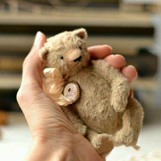 Мишки Тедди ручной работы. Ярмарка Мастеров - ручная работа. Купить Мишка тедди.Медведь Гек). Handmade. Бежевый