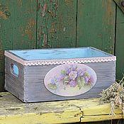 Для дома и интерьера handmade. Livemaster - original item Box wooden