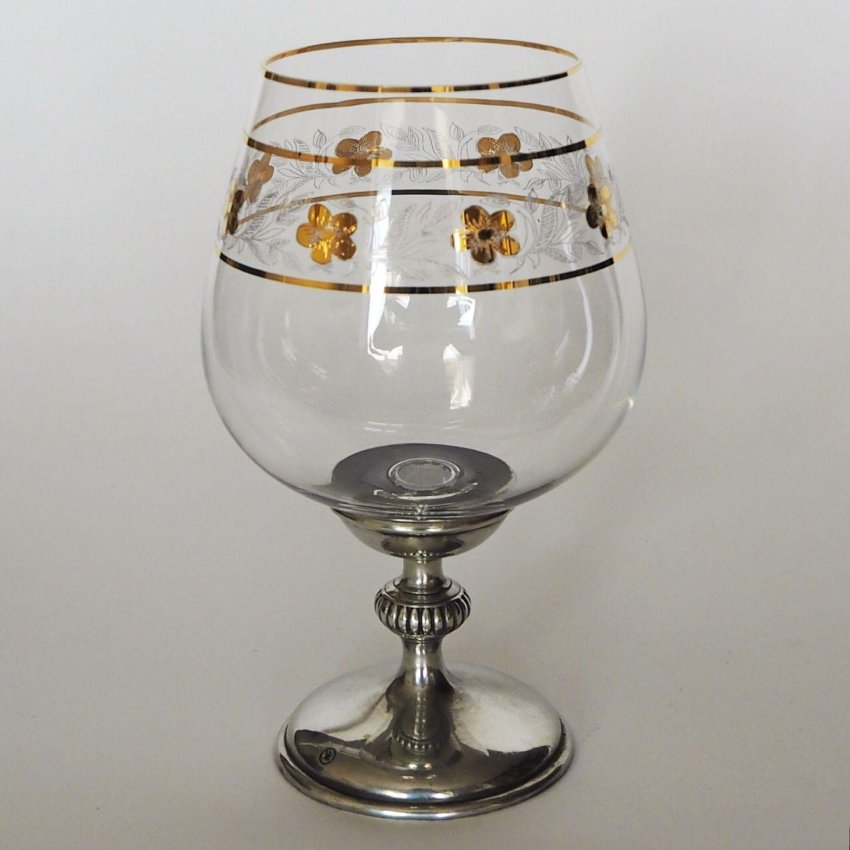 BRANDY wine GLASS BOHEMIAN EMPIRE (a glass of brandy), Wine Glasses, Zhukovsky,  Фото №1