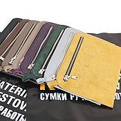 Wallets handmade. Livemaster - original item Pocket Cosmetic Bag Purse Case Handbag Eyeglass Case Hard Case Travel Bag. Handmade.