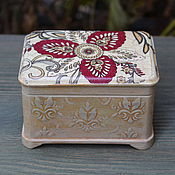 Для дома и интерьера handmade. Livemaster - original item Trinket box Delicate Feelings. Handmade.