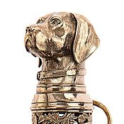 "Для дома и интерьера handmade. Livemaster - original item Shoehorn a big ""hunting dog"", 800 mm. Handmade."