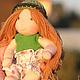 Диана 17см. Вальдорфская кукла.Julia Solarrain (SolarDolls) Ярмарка Мастеров