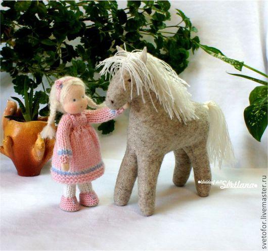 Вальдорфская игрушка ручной работы. Ярмарка Мастеров - ручная работа. Купить Друзья (вальдорфские игрушки). Handmade. Вальдорфская кукла