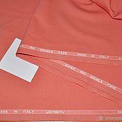 Ткани ручной работы. Ярмарка Мастеров - ручная работа Костюмная шерсть Leitmotiv super 150, терракотовый. Handmade.