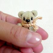 Куклы и игрушки ручной работы. Ярмарка Мастеров - ручная работа Мишка (4,5см.). Handmade.