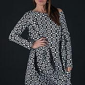 Одежда handmade. Livemaster - original item Spring off-shoulder tunic dress - TU0472PM. Handmade.