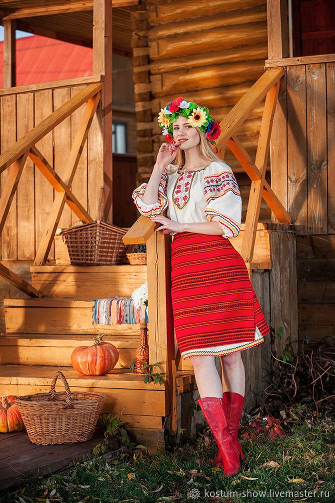 Арт. 1122, Народные костюмы, Москва,  Фото №1