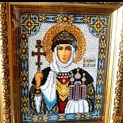 Картины и панно handmade. Livemaster - original item Icon of St. Princess Olga. Handmade.