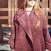 Одежда ручной работы. Ярмарка Мастеров - ручная работа Пальто-халат в стиле Oversize. Handmade.