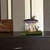 Для дома и интерьера ручной работы. Ярмарка Мастеров - ручная работа Превращение в бабочку. Ночник.. Handmade.