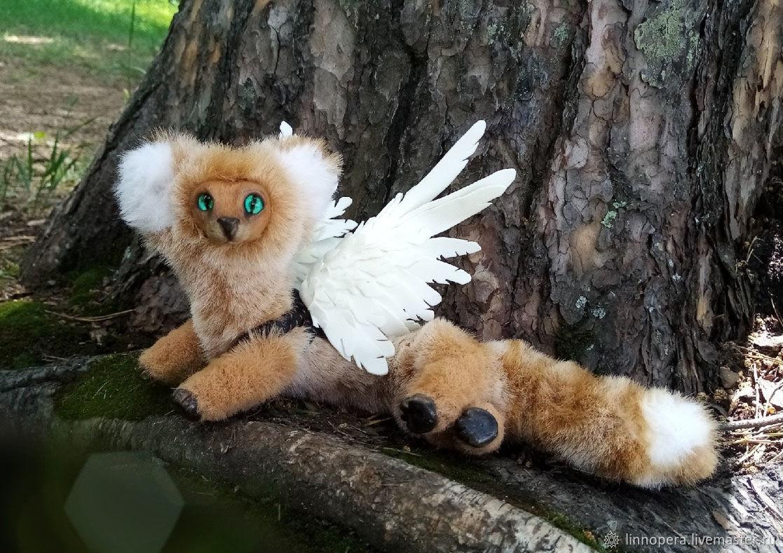 Лесной дракон Акира, Мягкие игрушки, Новосибирск,  Фото №1
