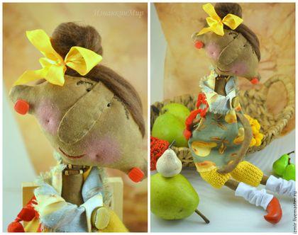 Ароматизированные куклы ручной работы. Груша с грушами <img src=