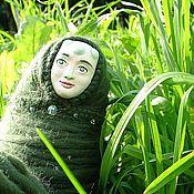 Куклы и игрушки ручной работы. Ярмарка Мастеров - ручная работа Кукла Herbe (Травушка). Handmade.