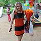 """Платья ручной работы. Ярмарка Мастеров - ручная работа. Купить Платье ажурное """"Оранжевое настроение"""". Handmade. Рыжий, платье летнее"""