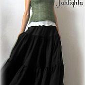 Одежда handmade. Livemaster - original item Lower skirt made from delicate cotton. Handmade.