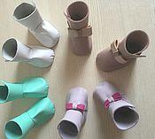 Куклы и игрушки ручной работы. Ярмарка Мастеров - ручная работа Ботиночки для пупсов, кукол, тедди. Handmade.