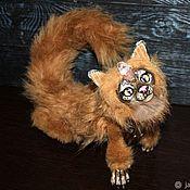 Куклы и игрушки handmade. Livemaster - original item Looking for a home! The guardian-Maxi, Puma, Amadahy, dragon. Handmade.
