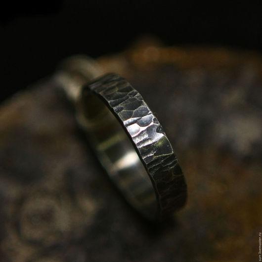 """Кольца ручной работы. Ярмарка Мастеров - ручная работа. Купить Кованое кольцо """"Грубая кора""""  № 169. Handmade."""
