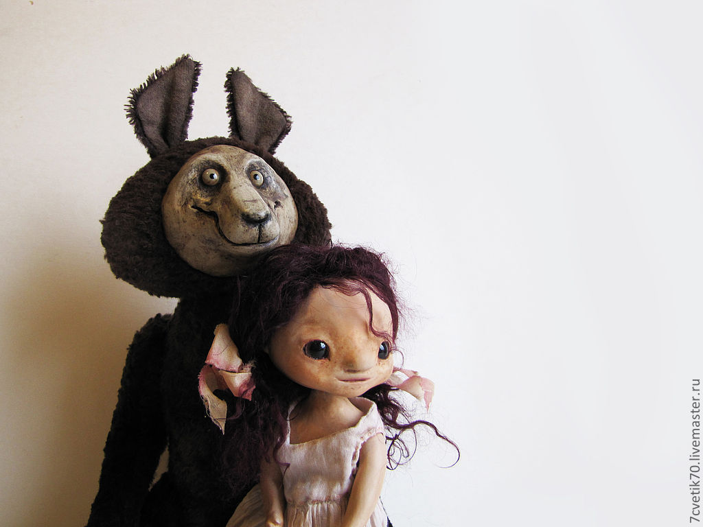 '...and the brown wolf faithfully serves her..', Dolls, St. Petersburg,  Фото №1