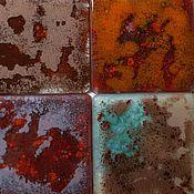 Для дома и интерьера ручной работы. Ярмарка Мастеров - ручная работа Стеклянная плитка.. Handmade.