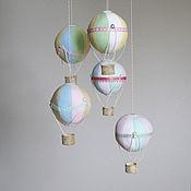Для дома и интерьера ручной работы. Ярмарка Мастеров - ручная работа Воздушные Шарики в детскую. Handmade.