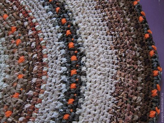 """Текстиль, ковры ручной работы. Ярмарка Мастеров - ручная работа. Купить Коврик """"Осенний"""". Handmade. Оранжевый, квартира, хлопок"""