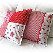 """Для дома и интерьера ручной работы. Ярмарка Мастеров - ручная работа 2 диванные подушки """"Рози"""". Handmade."""