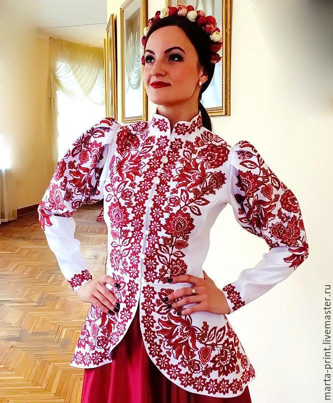 фото костюм русский