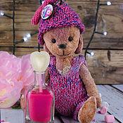 Куклы и игрушки ручной работы. Ярмарка Мастеров - ручная работа Карамелька, мишка-тедди. Handmade.