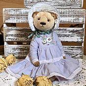 Выкройки для кукол и игрушек ручной работы. Ярмарка Мастеров - ручная работа Выкройка мишки 28см , платья, капора.  Комплект выкроек для творчества. Handmade.