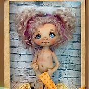 Материалы для творчества ручной работы. Ярмарка Мастеров - ручная работа Выкройка текстильной куклы. Handmade.