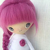 Куклы и игрушки ручной работы. Ярмарка Мастеров - ручная работа Текстильная кукла_4. Handmade.