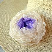 Украшения handmade. Livemaster - original item Brooch made of fabric false form. Handmade.