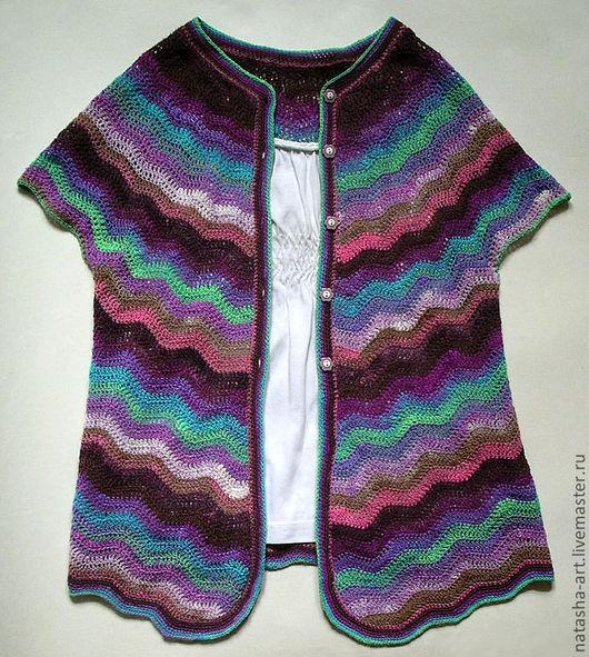 Одежда для девочек, ручной работы. Ярмарка Мастеров - ручная работа. Купить Лето а-ля Миссони. Handmade. Орнамент